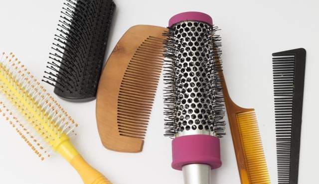 さまざまな育毛ブラシ