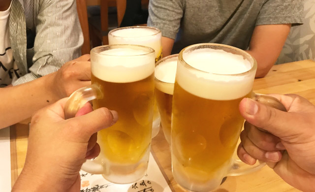 ミノタブとお酒や飲酒